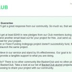 BackerClub Review of Submit Guarantee